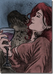 Woman_drinking_wine_by_DiegoTripodi