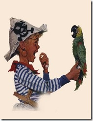 norman rockwell pirate