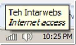 intarwebs